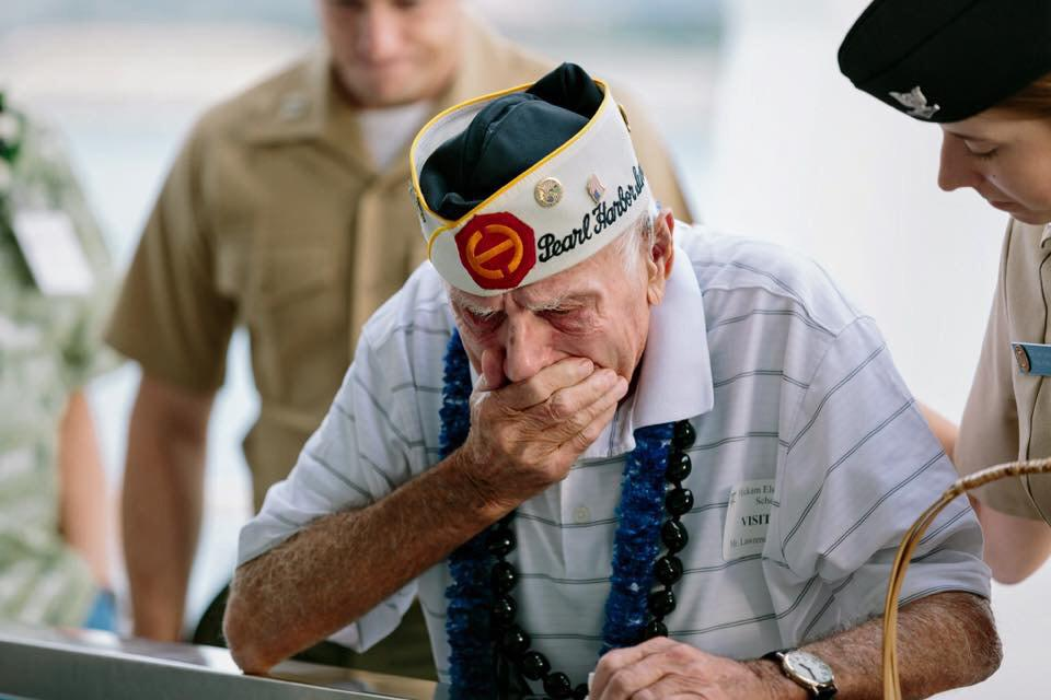 Pearl Harbor Survivor 2014, Rose Petals on Water