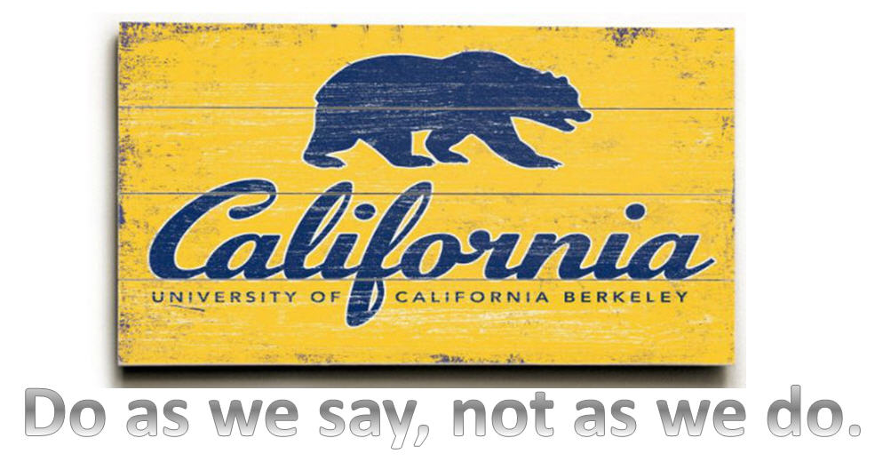 UC Berkeley - Do As We Say