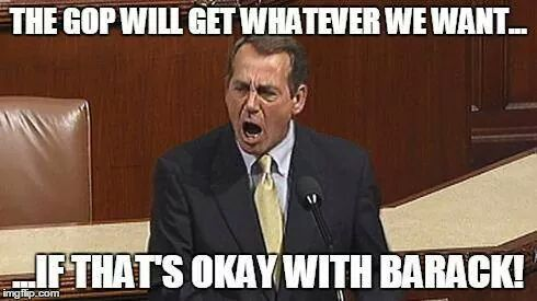 Boehner - If It's Okay With Barack