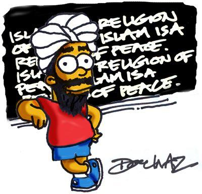Islam Religion of Peace CARTOON