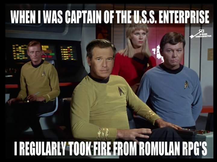 Brian Williams Star Trek