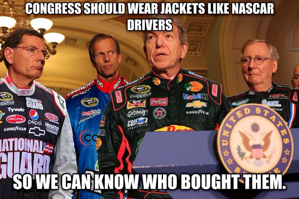 CONGRESS NASCAR JACKETS