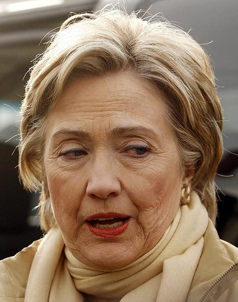 Hillary Clinton Ravaged