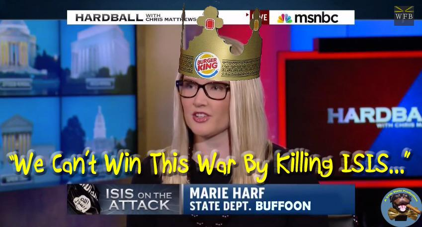 Marie Harf State Dept Buffoon