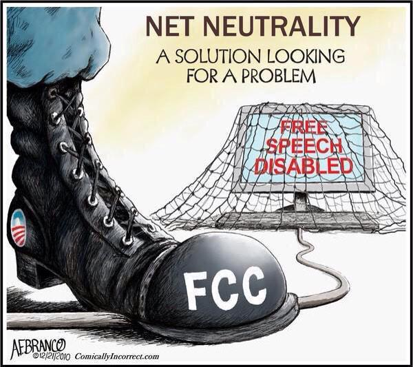 Net Neutrality Boot