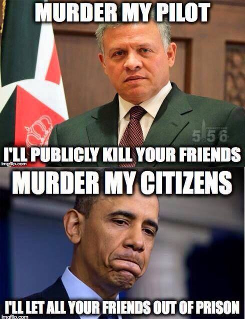 Obama Differences Between Him & Jordan King Abdullah