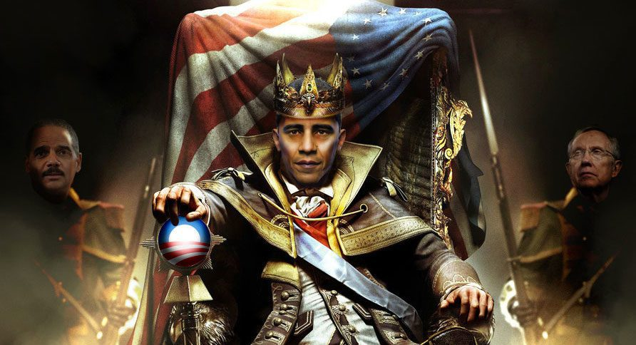 Obama Imperial King