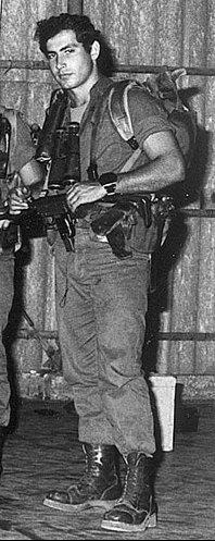 Benjamin Netanyahu Soldier