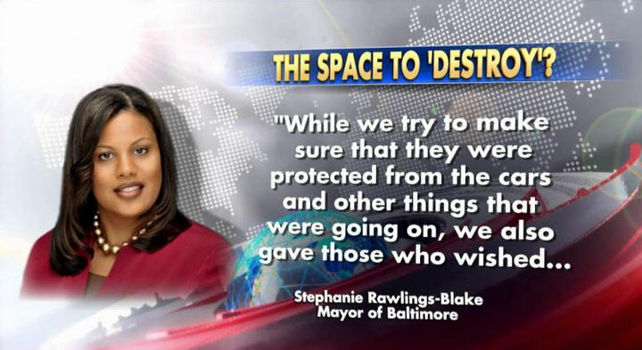 Blacks Space To Destroy
