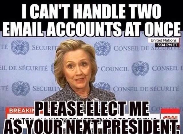 Hillary Accounts Email