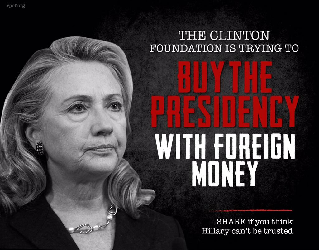 Hillary Foreign Money