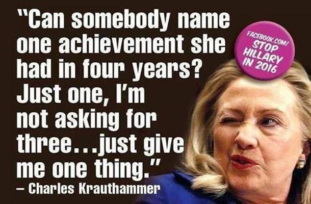 Hillary Clinton accomplishments