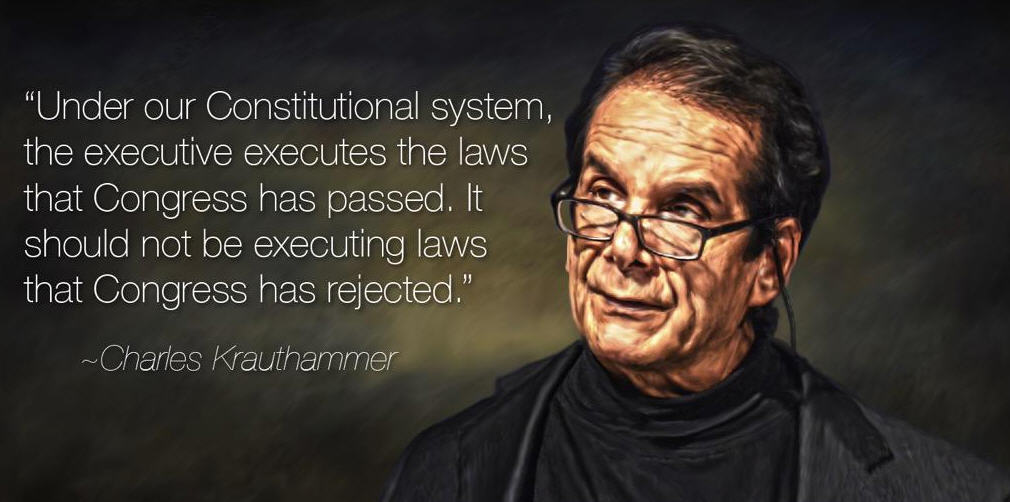 Krauthammer Executive Quote