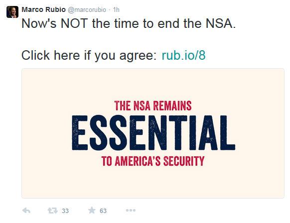 Marco Rubion Twitter NSA