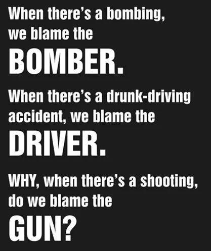 Gun Blaming