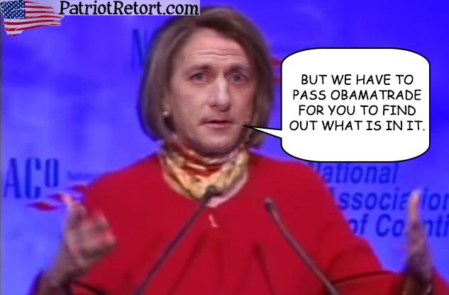Nancy Ryan ObamaTrade