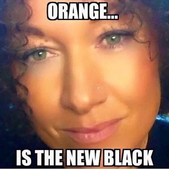 Rachel Dolezal In Orange