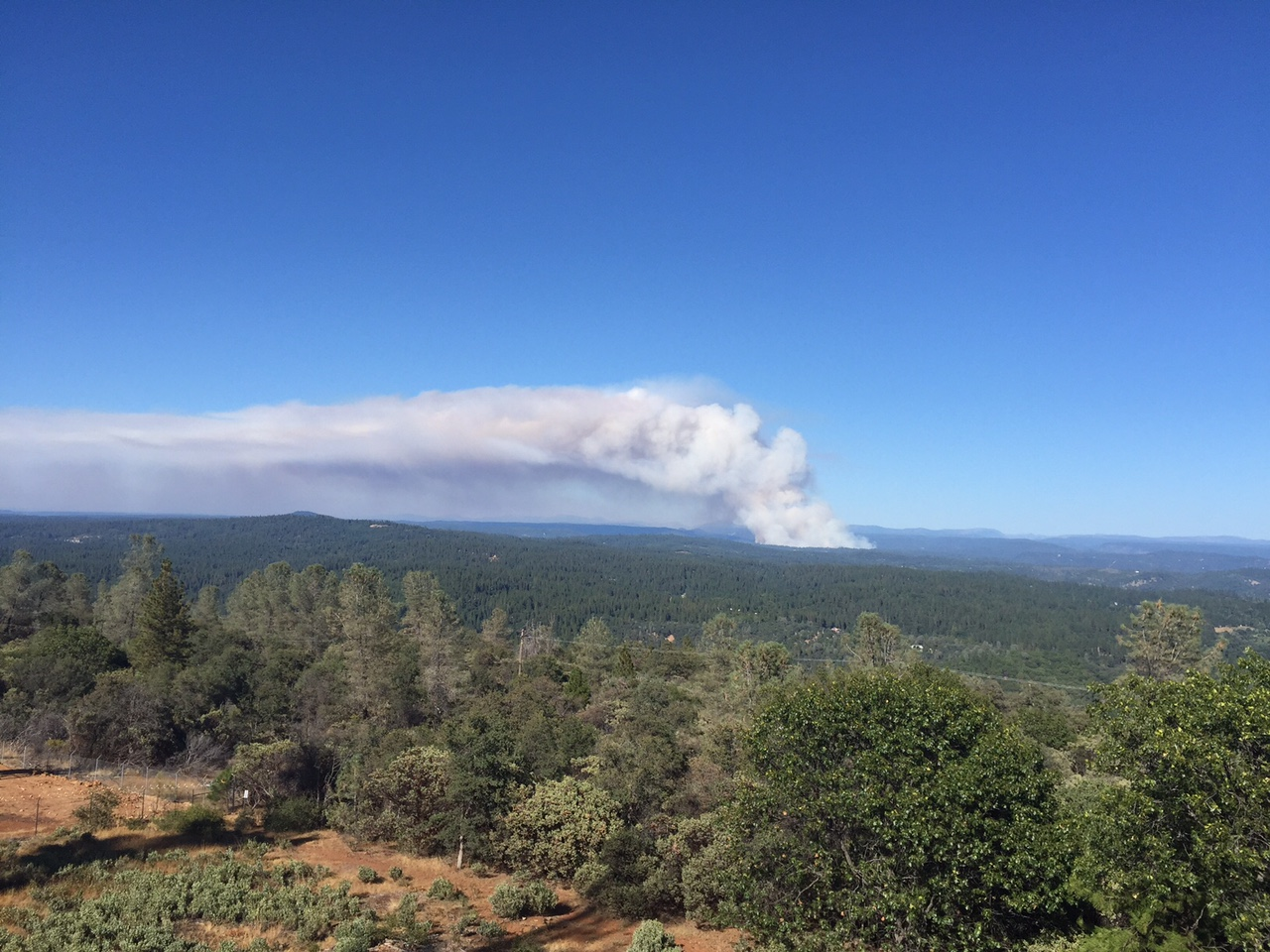 Lowell Fire, Nevada County