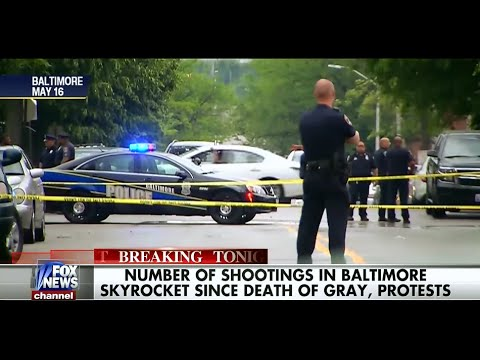 Baltimore Murder Rates Skyrocket