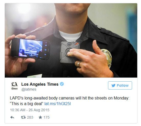 LAPD Body Cams