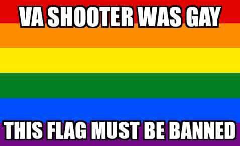 LGBT Flag Must Be Banned
