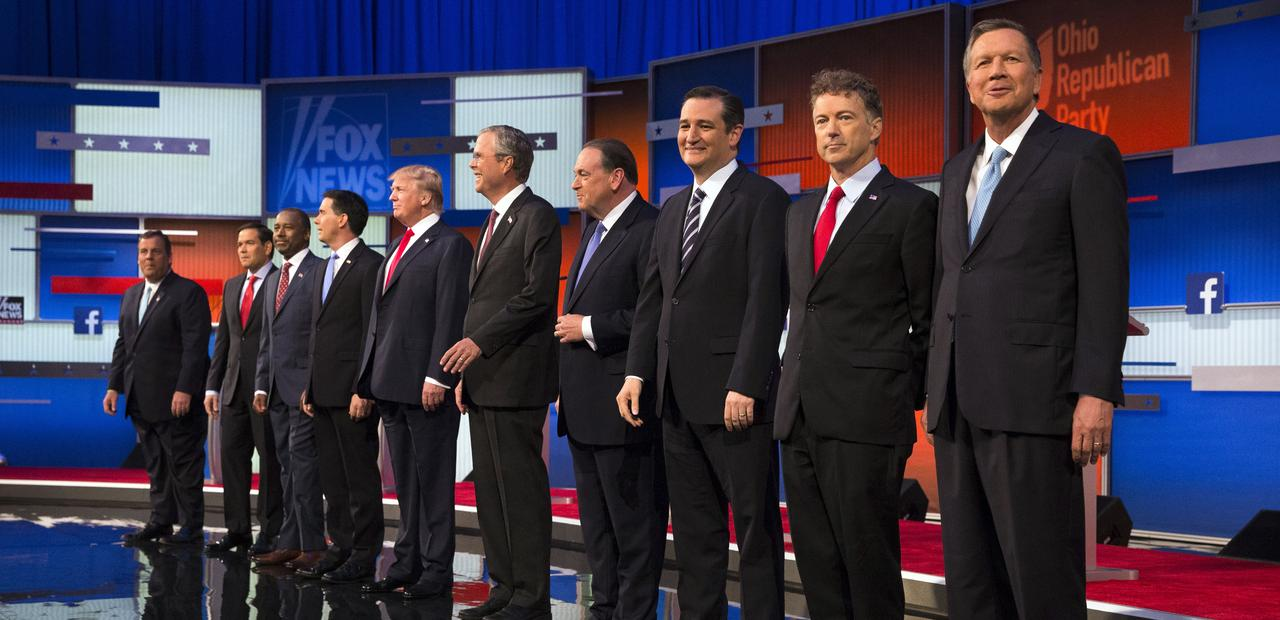 2016 GOP Presidential Candidates 8-2015