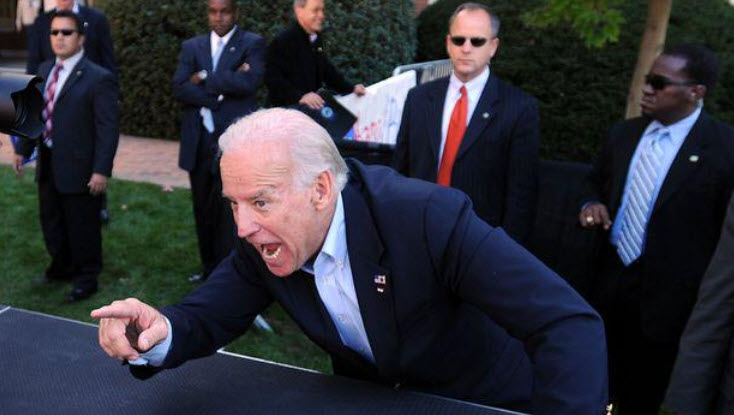 Joe Biden Pointing Again