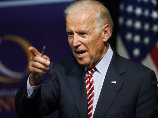 Joe Biden Pointing
