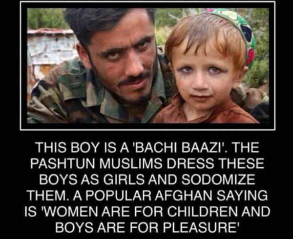Muslims Boys Are For Pleasure