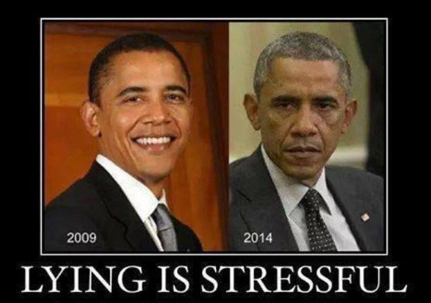 Obama Lying Is Stressful