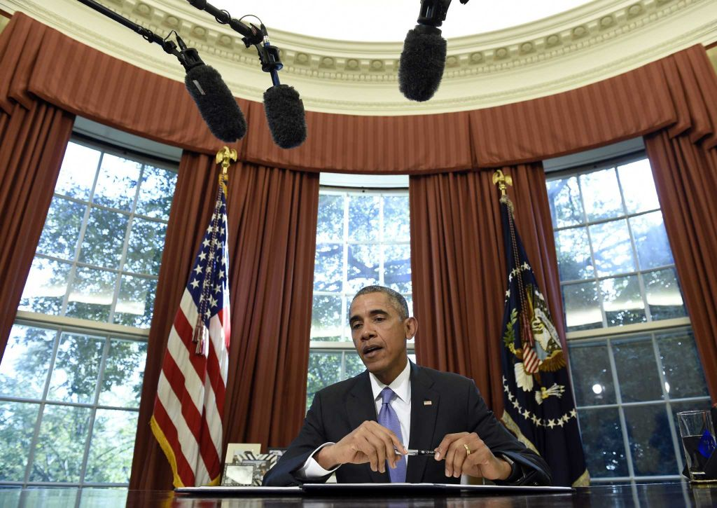 Obama Microphones Oval Office