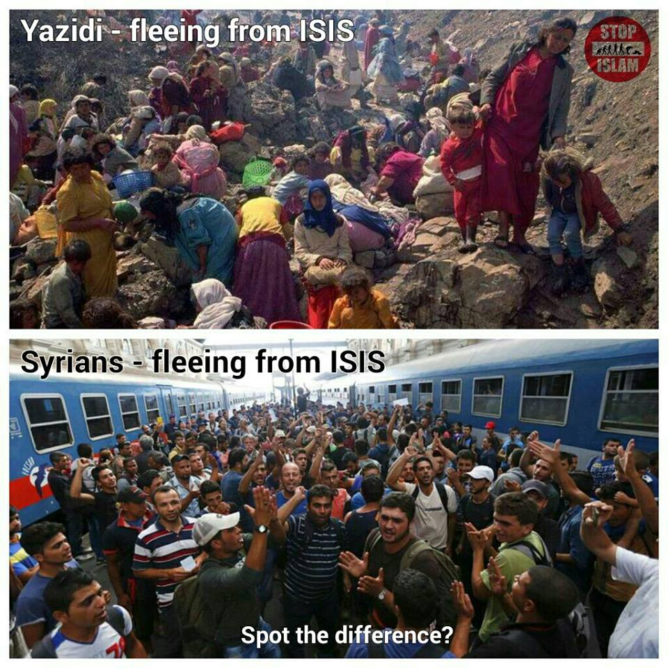 Syrians Fleeing From ISIS