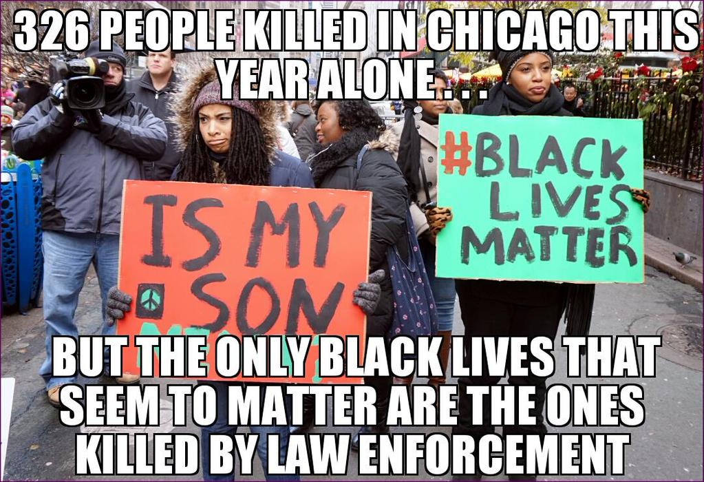 Black Lives Matter, To Very Few