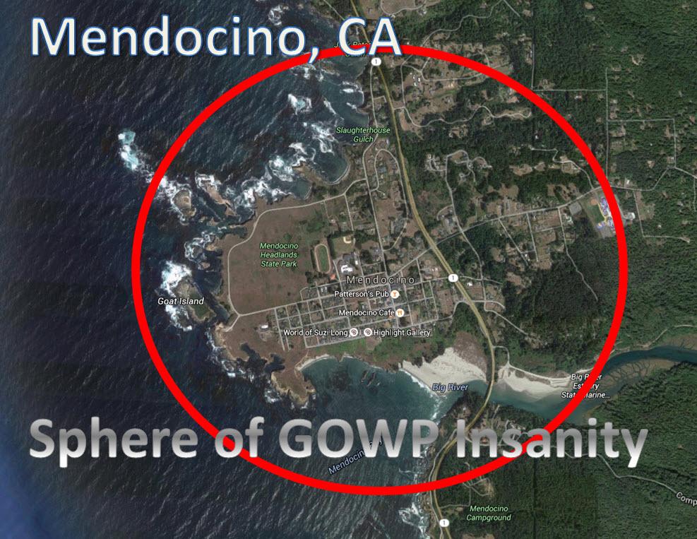 Leftist Mendocino, Sphere of GOWP Insanity