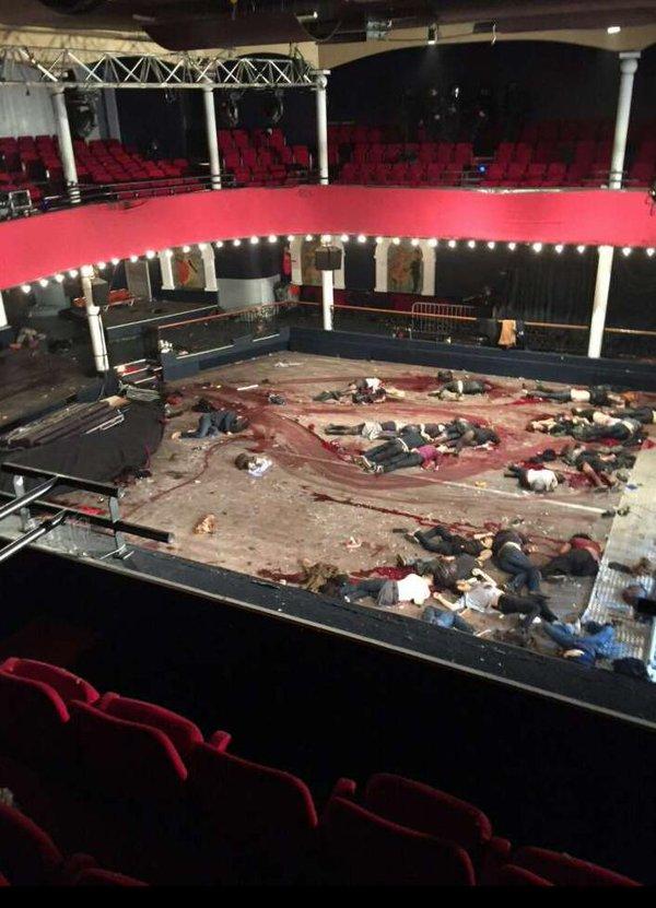 Paris Attack Bataclan Concert Site Dead Bodies