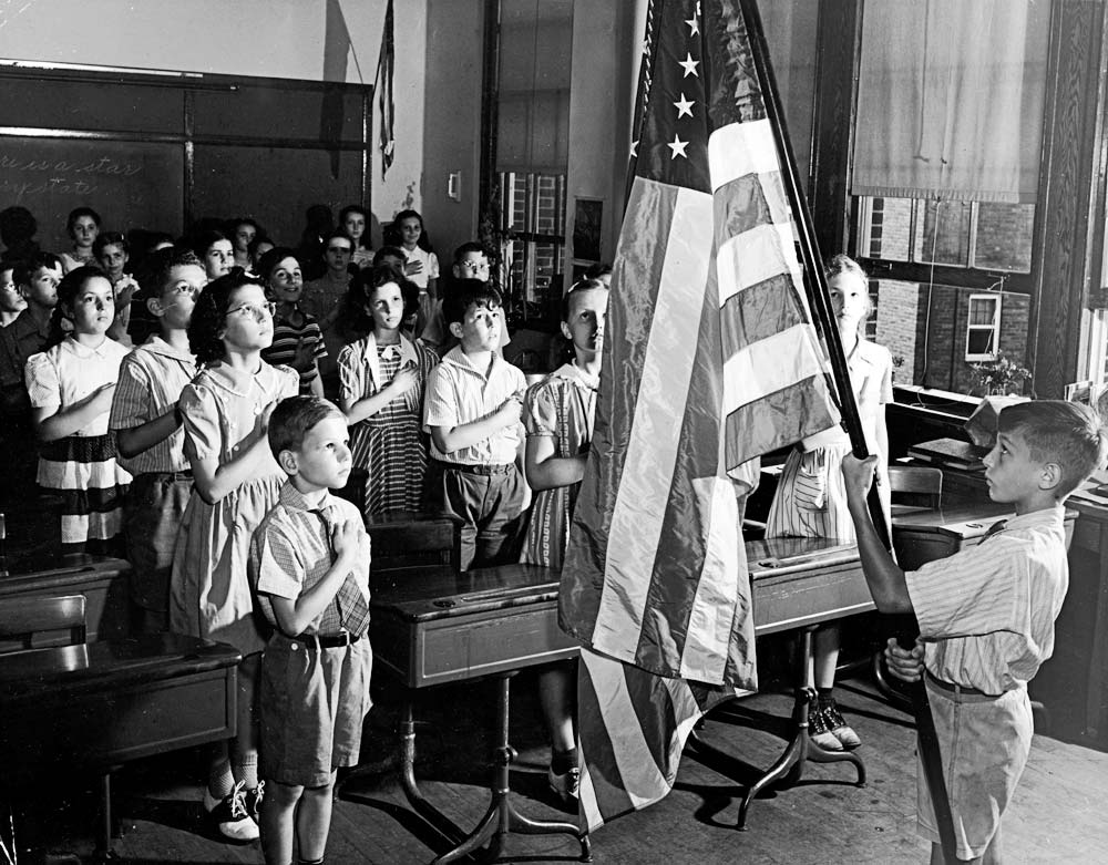 Pledge of Allegiance In the 1950s