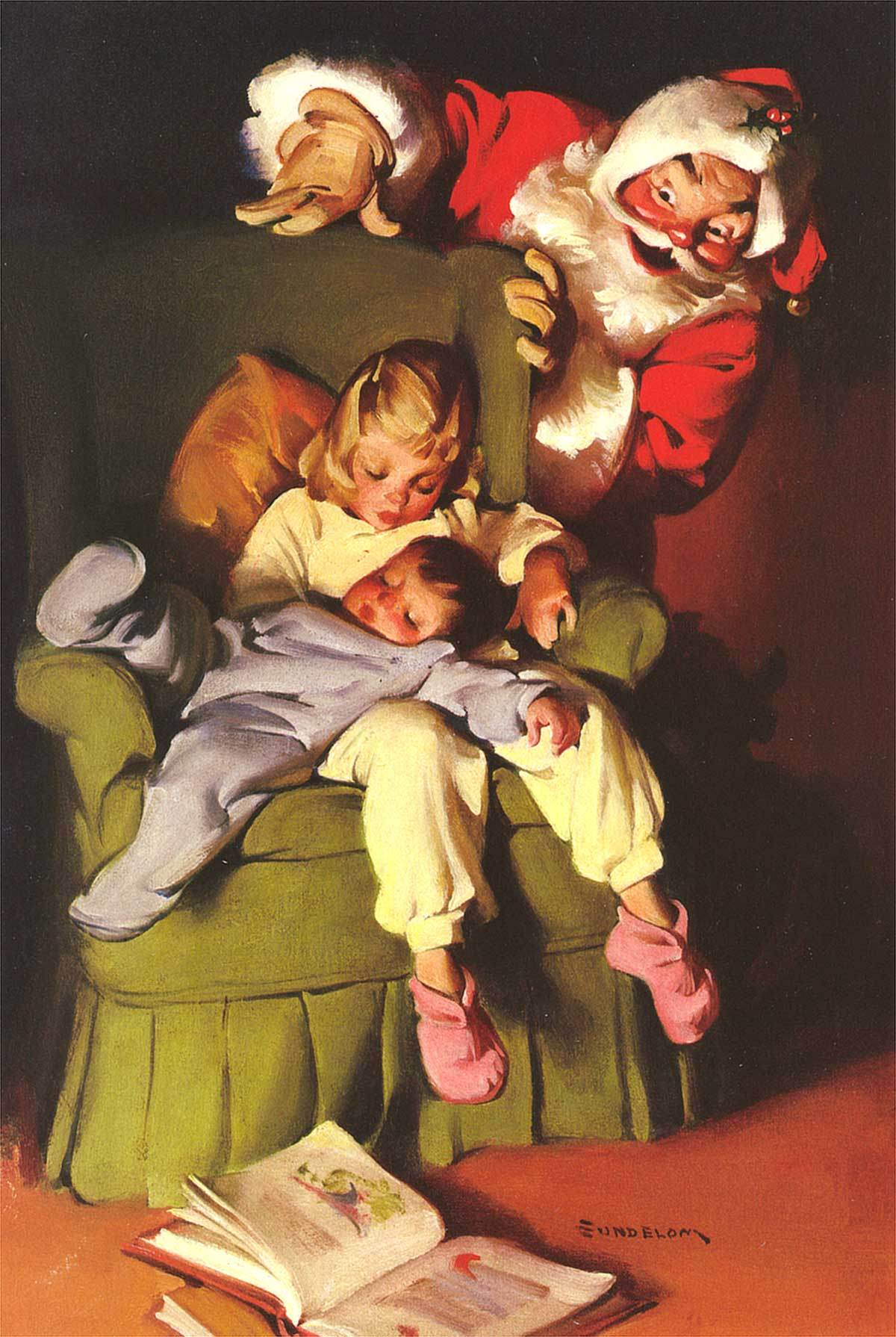 Christmas, Norman Rockwell