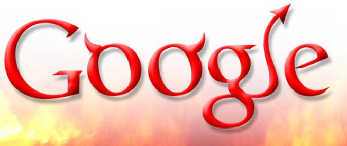 Google Being Evil