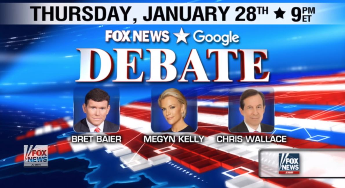 GOP Debate, Fox, 1-28-2016