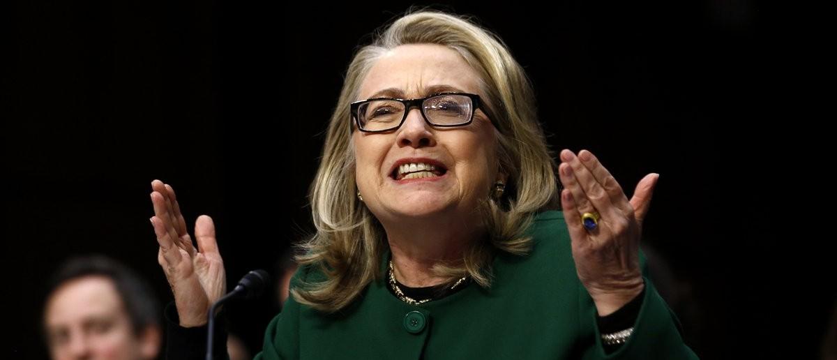 Hillary Clinton Pleading Not To Be Jailed