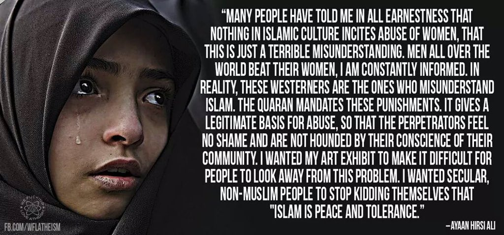 Islam is NOT Peace and Tolerance, Misogynist