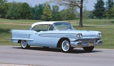 1958 Olds 88 Blue