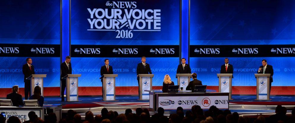 GOP Debate 2-6-2016 New Hampshire