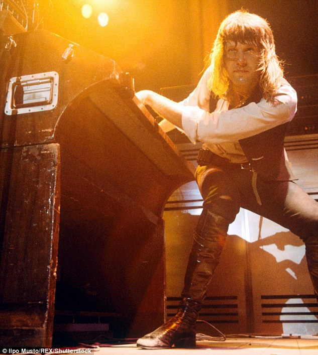 Keith Emerson 1970s
