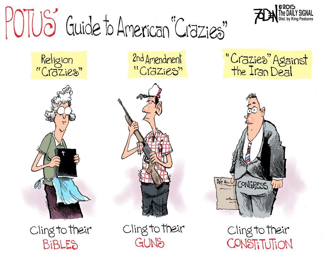 Obama American CRAZIES
