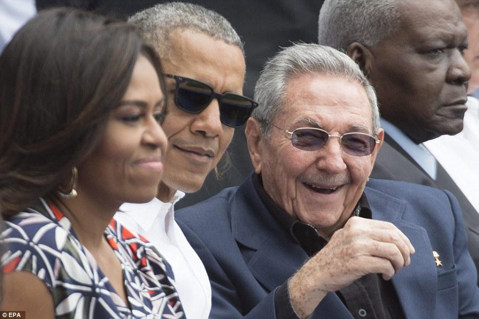 Obama Cuba Raul Castro