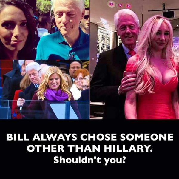 Hillary Clinton and Bill's Choices