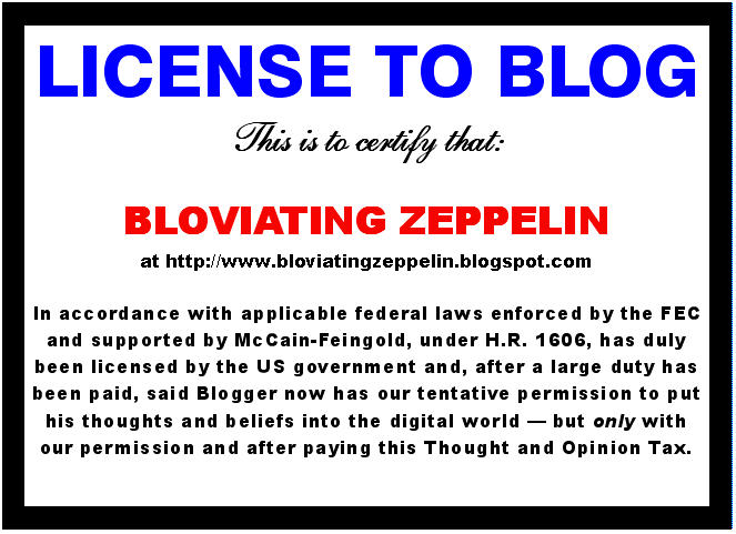 BZ License To Blog