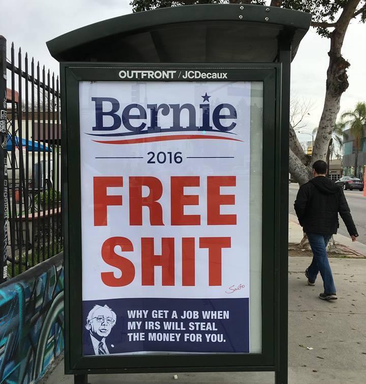 Bernie Sanders Free Shit