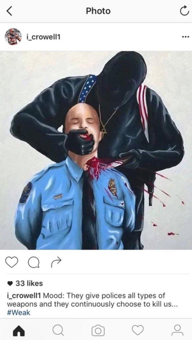 Cop Throat Slit